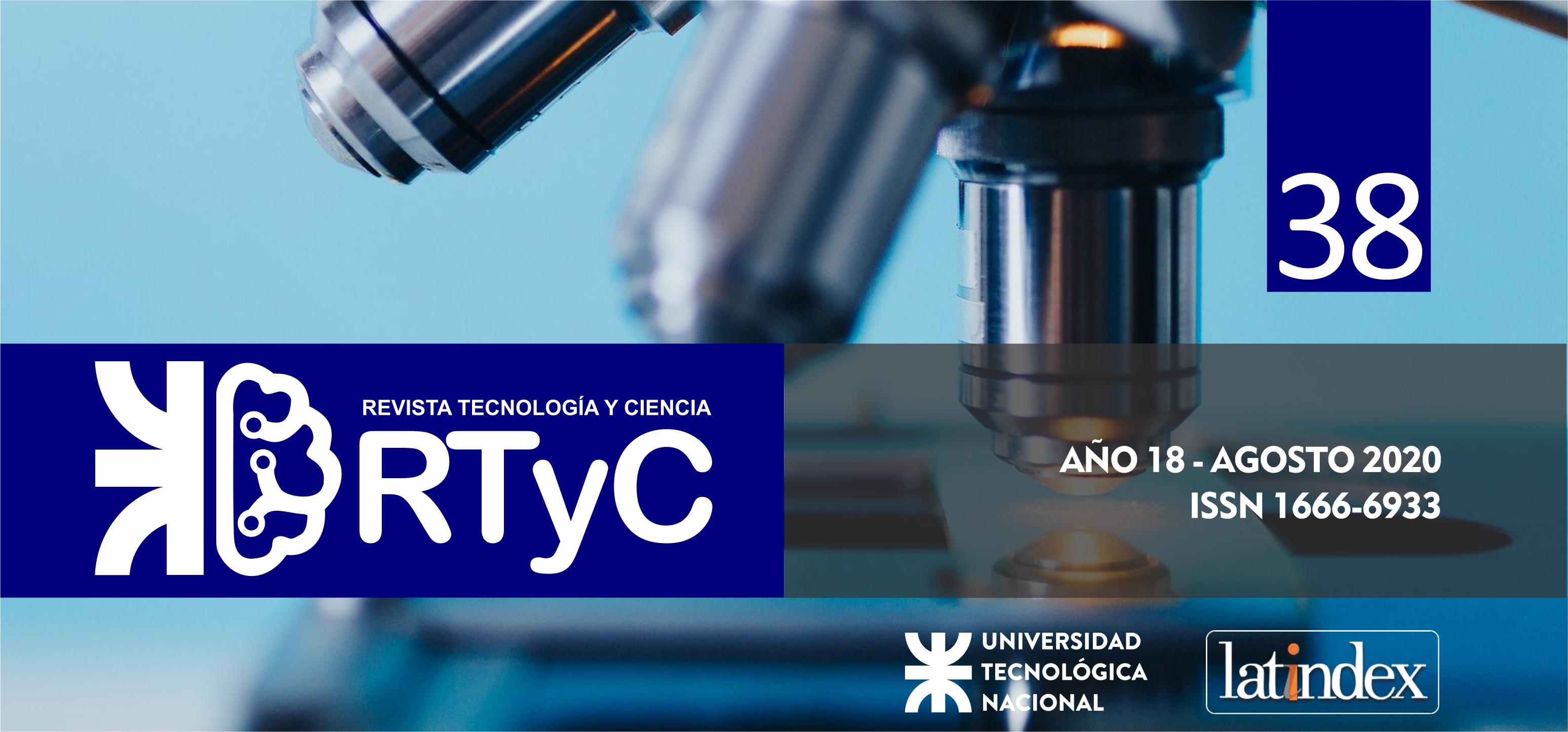 Ver Núm. 38 (2020): Revista Tecnología y Ciencia