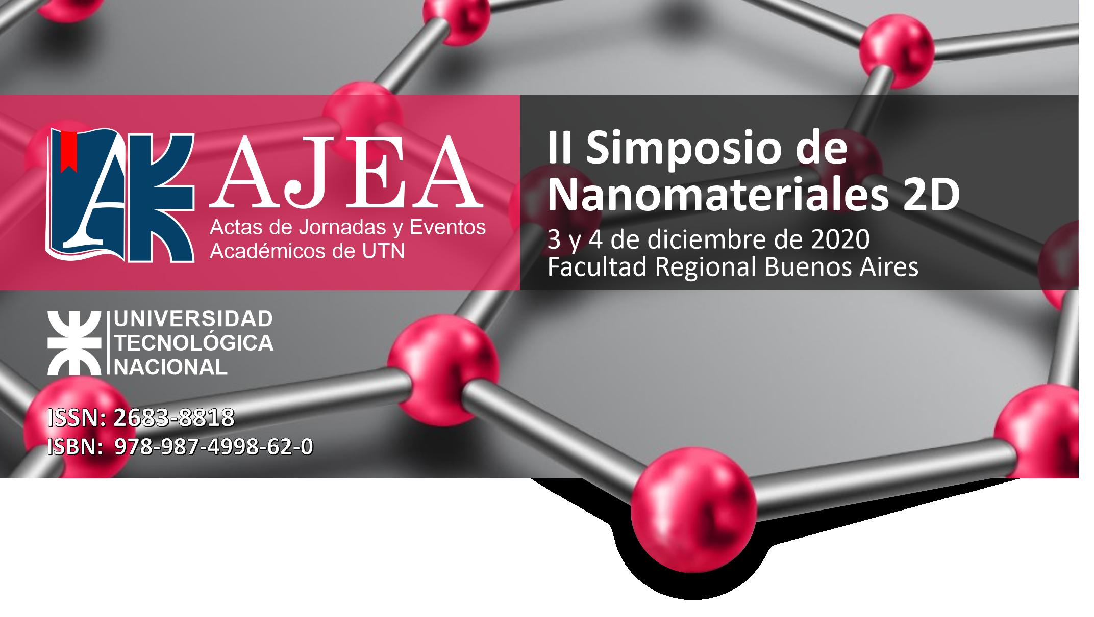 Ver Núm. 2 (2020): 2º Simposio de Nanomateriales 2D , Grafeno, Dispositivos y Aplicaciones